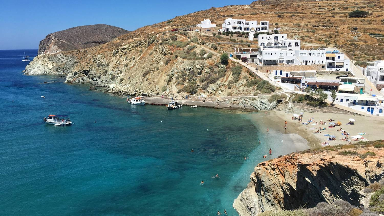 Agali Beach - Things To Do In Folegandros