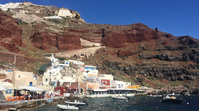 Amoudi Bay - Things To Do In Santorini