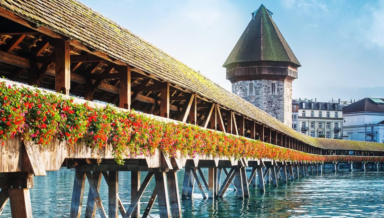 Chapel Bridge (Kapellbrucke) - Things To Do In Lucerne
