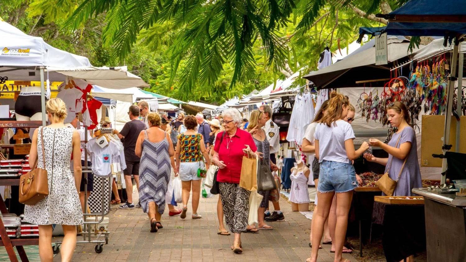 Eumundi Markets - Things To Do On The Sunshine Coast