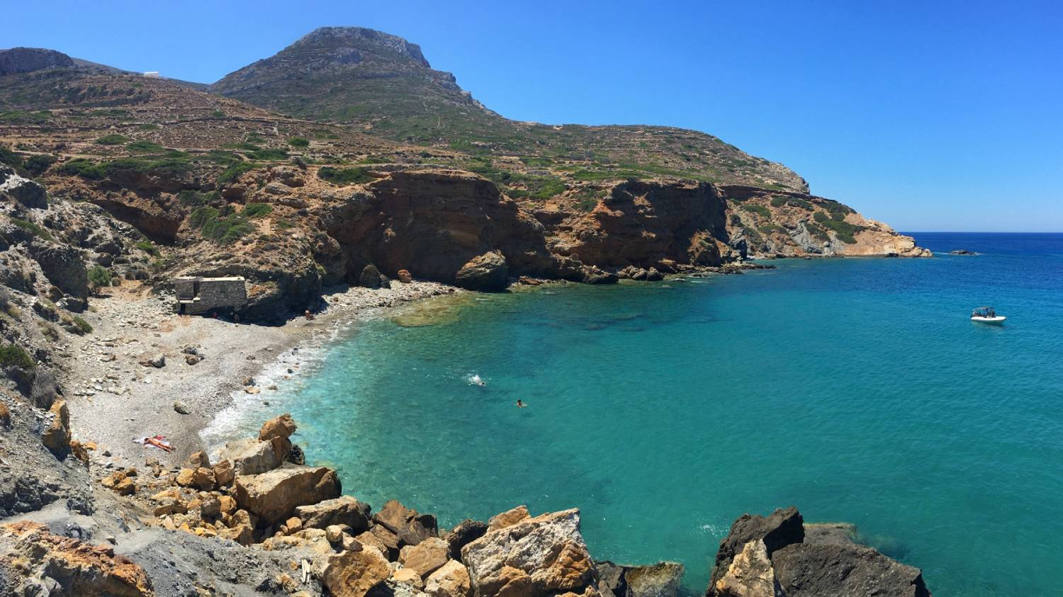 Fira Beach - Things To Do In Folegandros