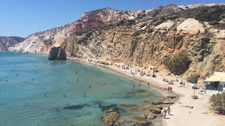 Firiplaka Beach - Things To Do In Milos