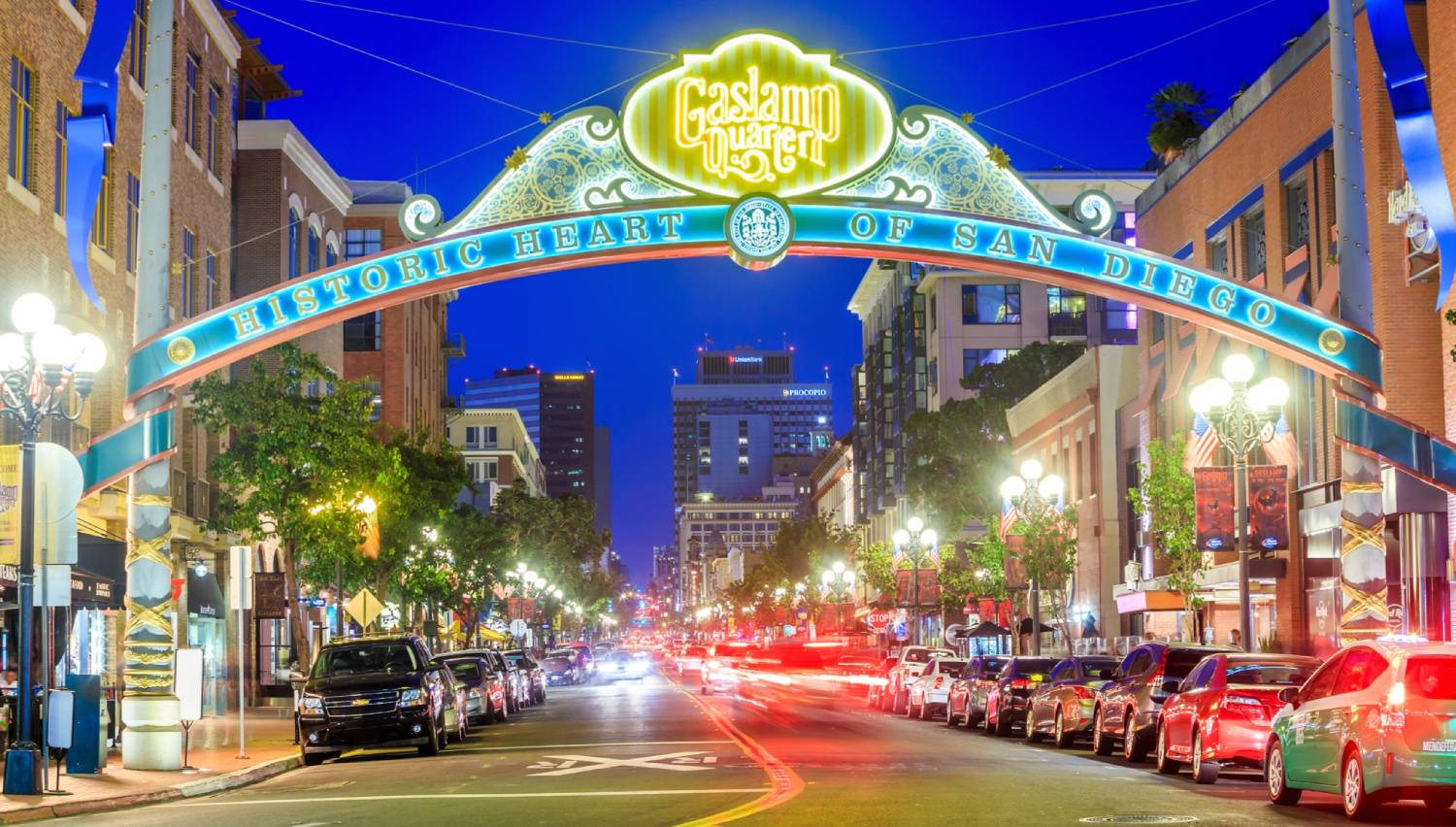 Gaslamp Quarter - Things To Do In San Diego