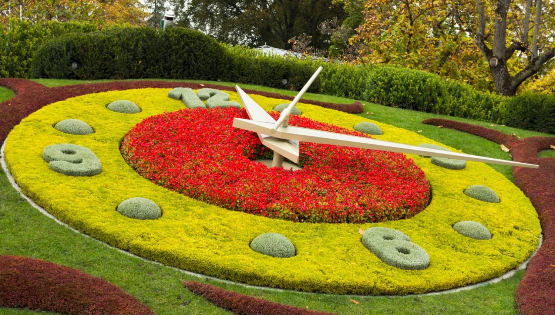 Geneva Flower Clock - Things To Do In Geneva
