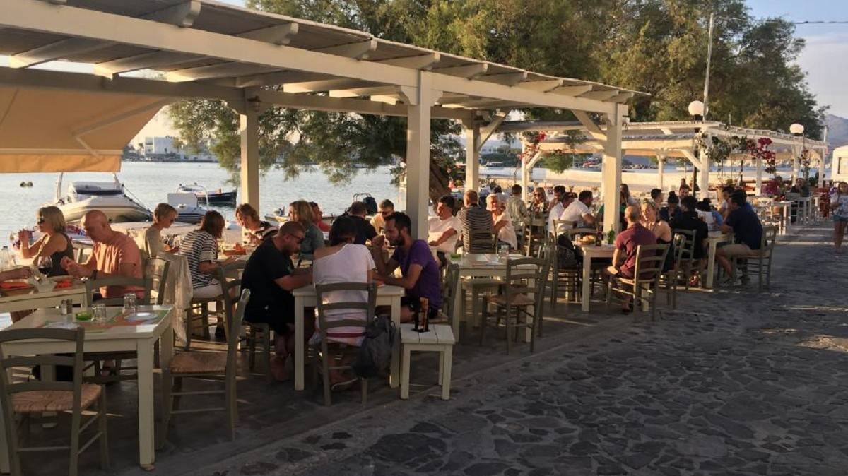 Gialos Restaurant - Things To Do In Milos