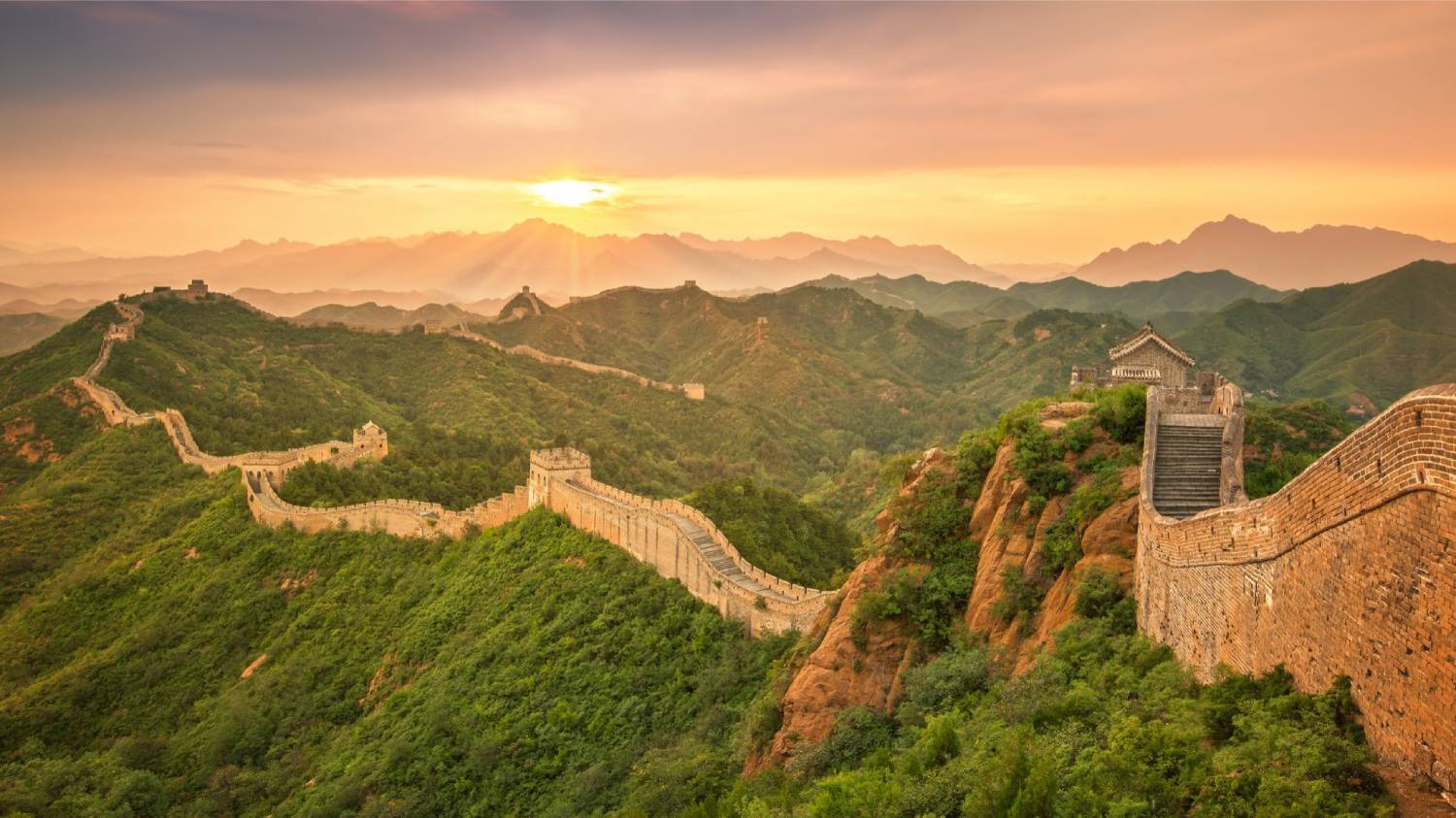The Great Wall of China - Things To Do In Beijing