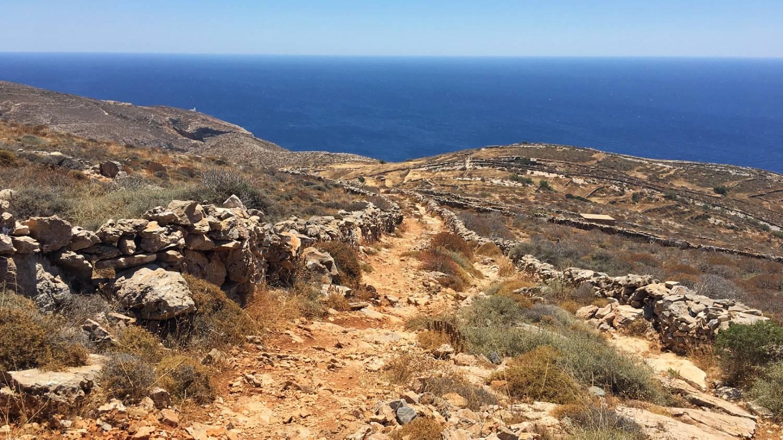 Hike from Ano Meria to Livadaki Beach - Things To Do In Folegandros