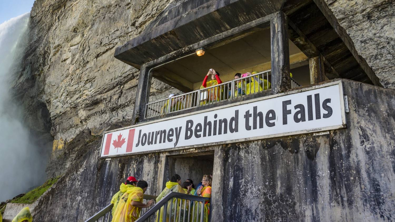 Journey Behind the Falls - Things To Do In Niagara Falls