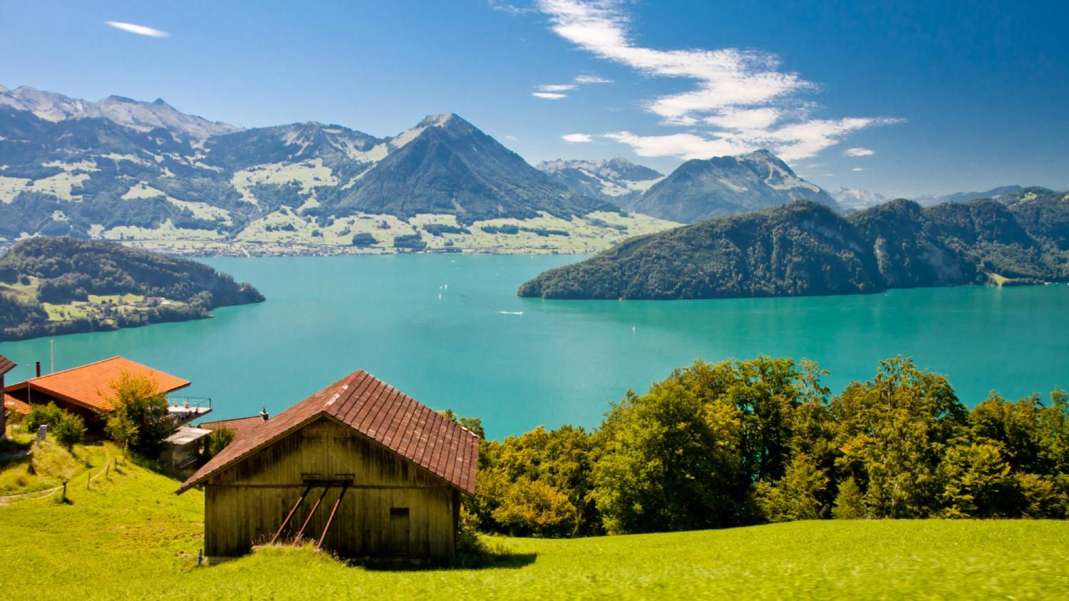 Lake Lucerne - The Best Places To Visit In Switzerland