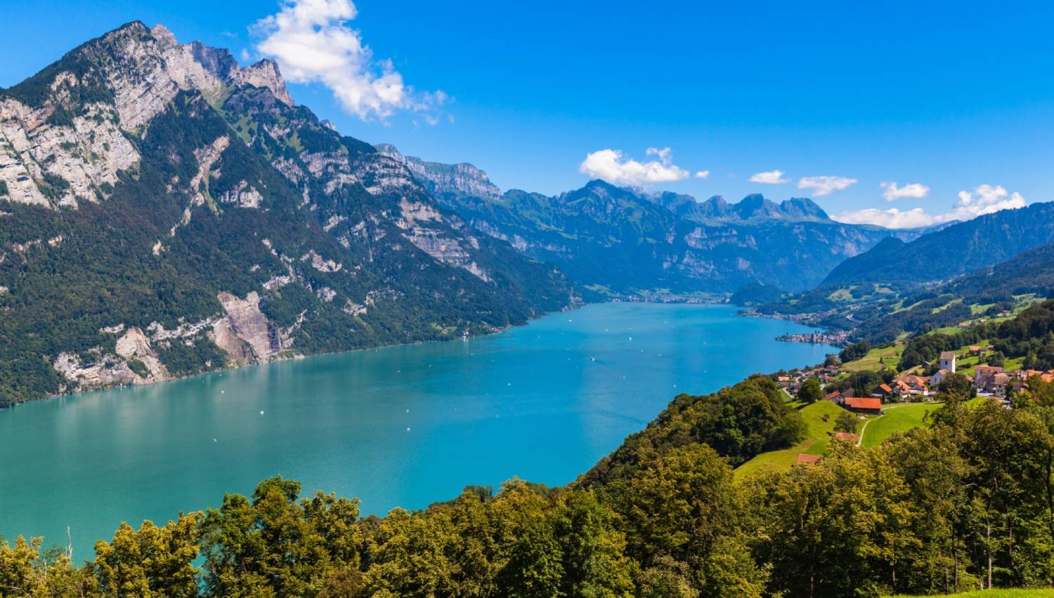 Lake Walen (Walensee) - The Best Places To Visit In Switzerland
