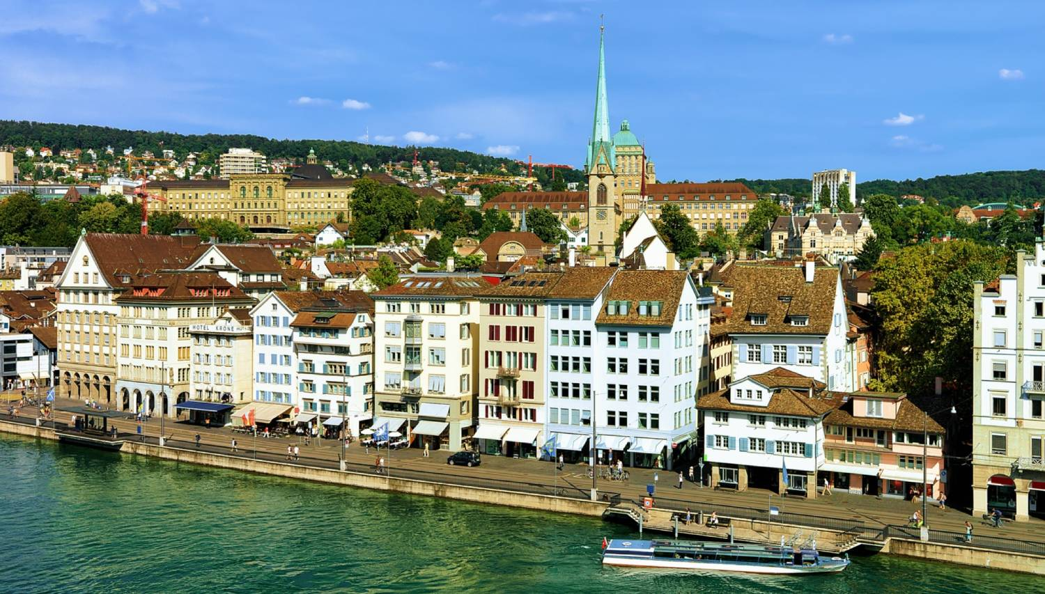 Limmatquai - Things To Do In Zurich