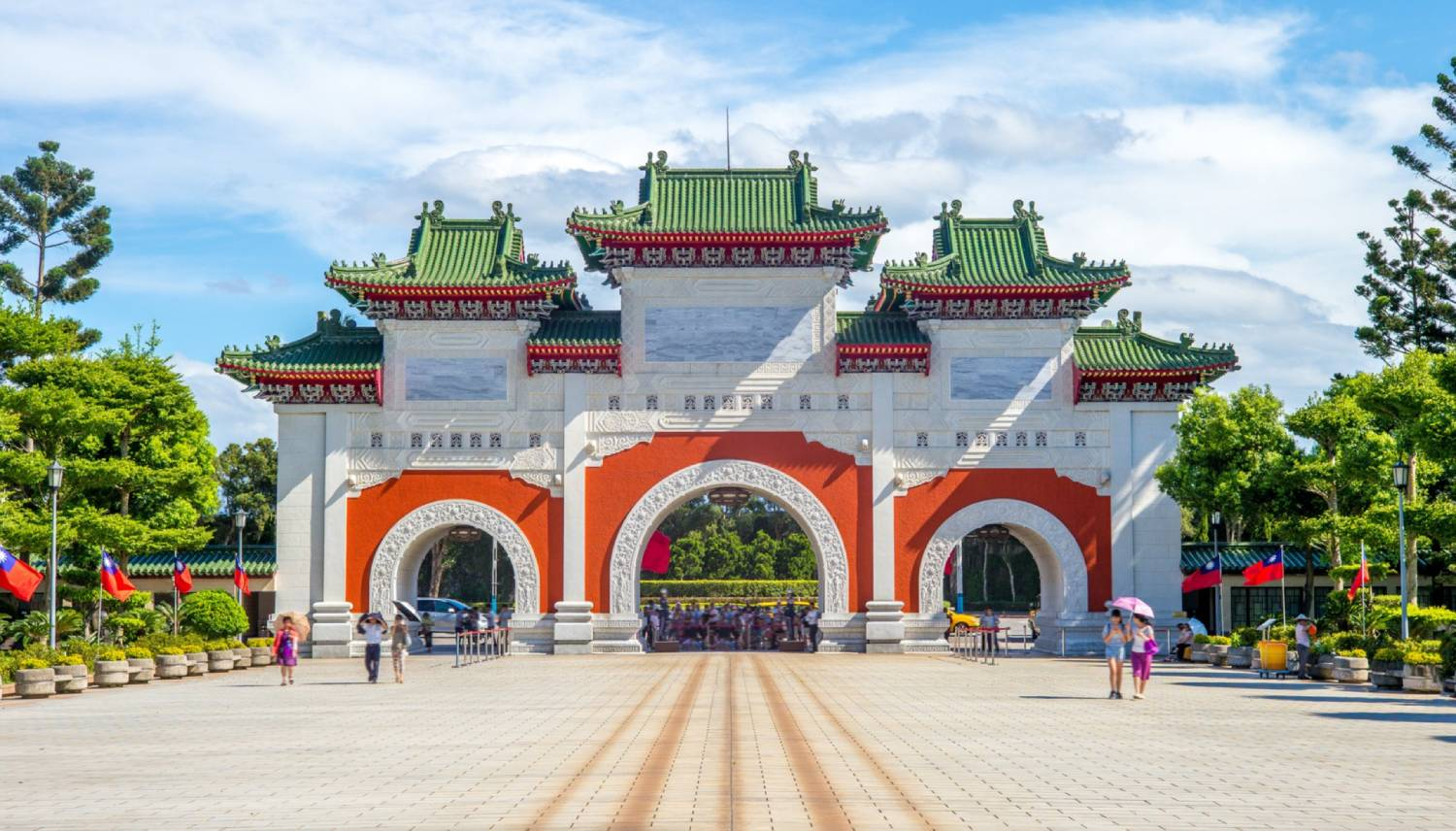 National Revolutionary Martyrs' Shrine - Things To Do In Taipei