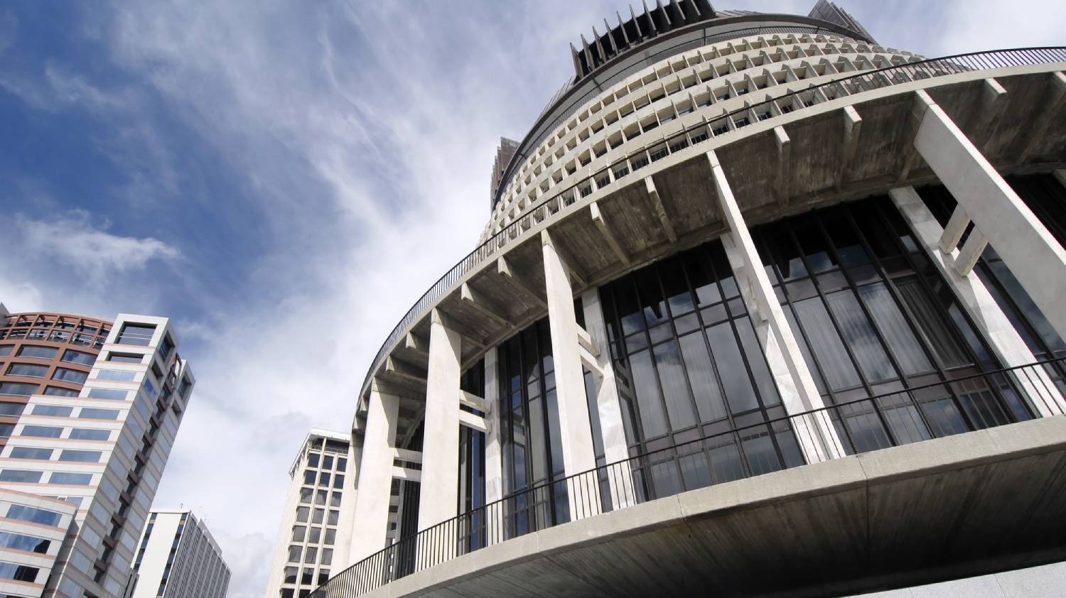 New Zealand's Parliament (Beehive) - Things To Do In Wellington
