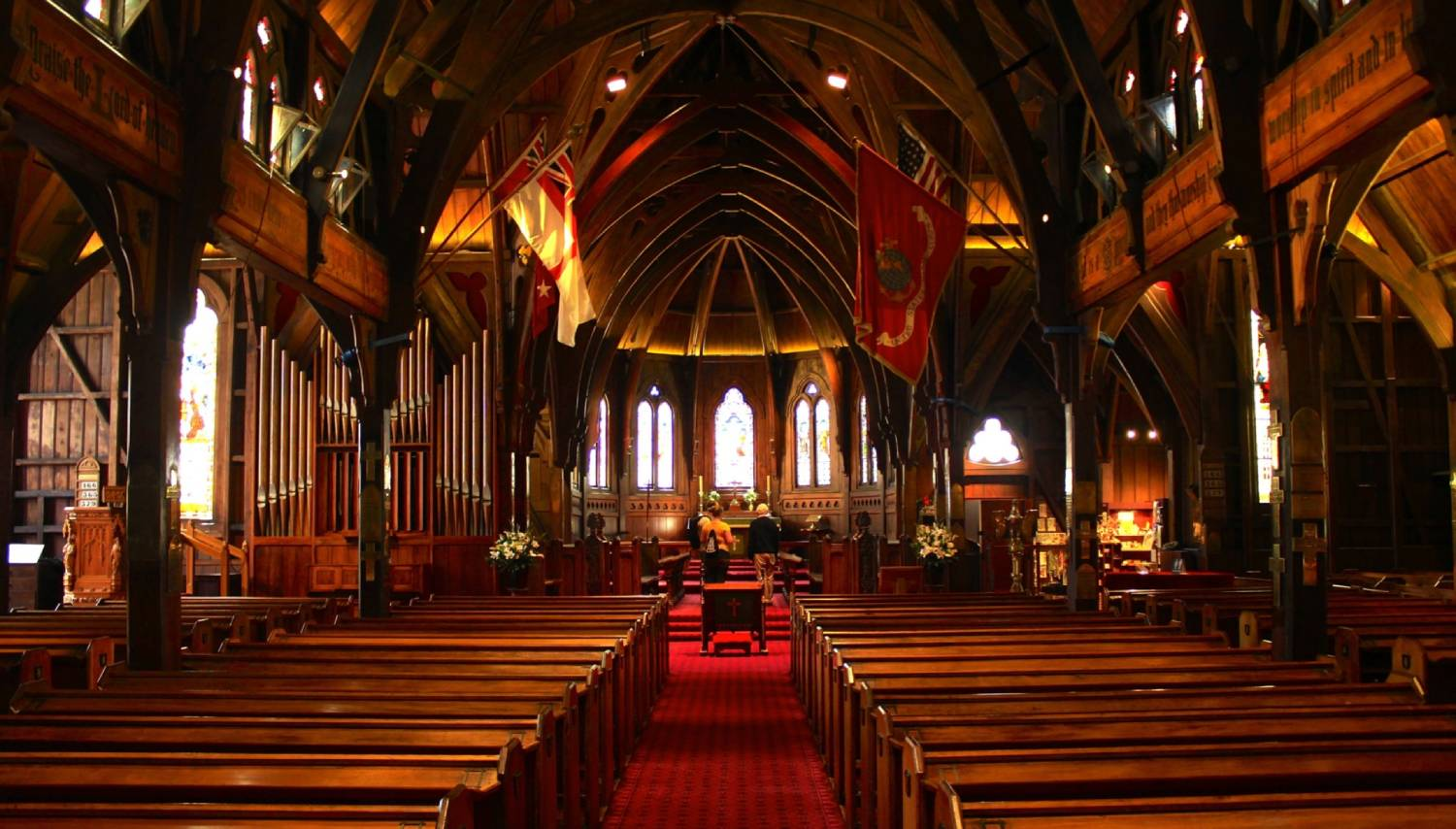 Old St Paul's Cathedral - Things To Do In Wellington