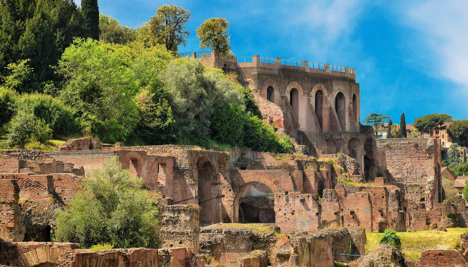 Palatine Hill - Things To Do In Rome
