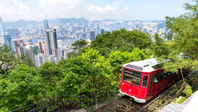 Peak Tram - Things To Do In Hong Kong