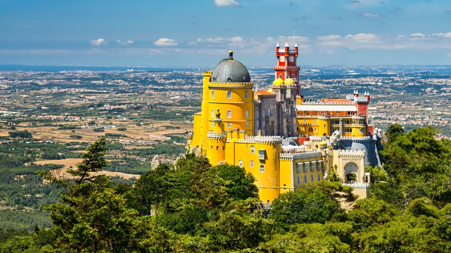 Pena National Palace - Things To Do In Lisbon