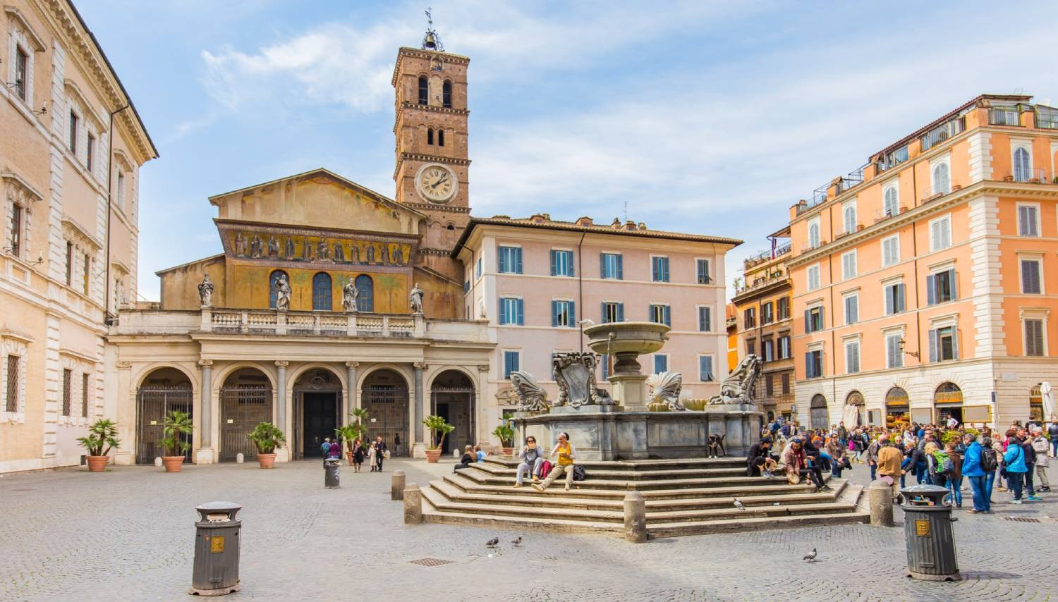 Piazza Santa Maria - Things To Do In Rome