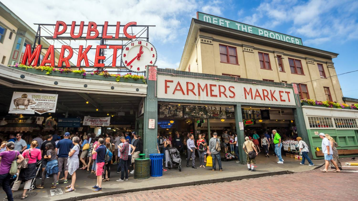 Pike Place Market - Things To Do In Seattle