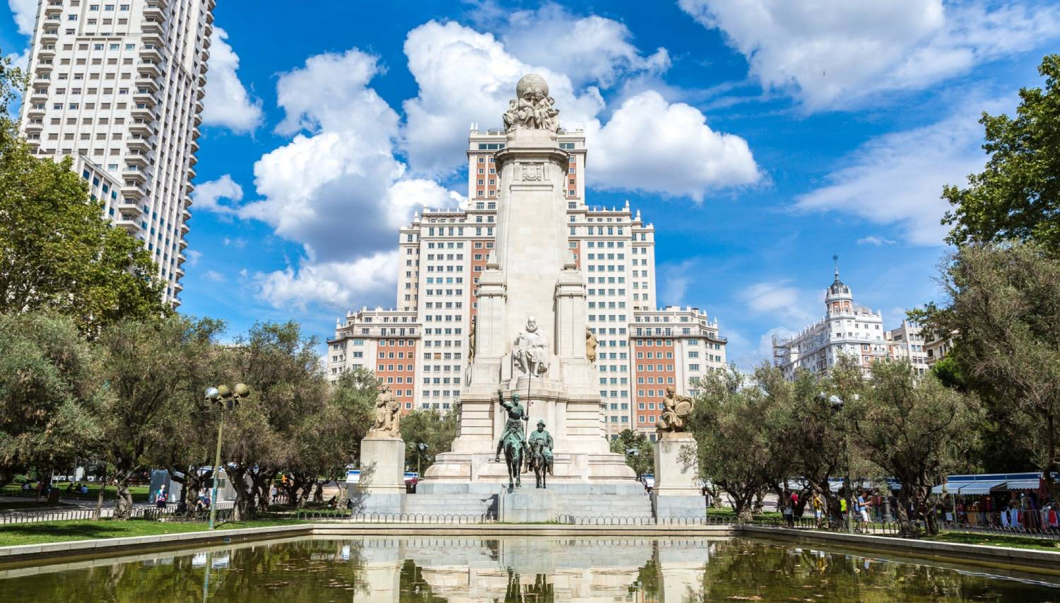 Plaza de Espana - Things To Do In Madrid