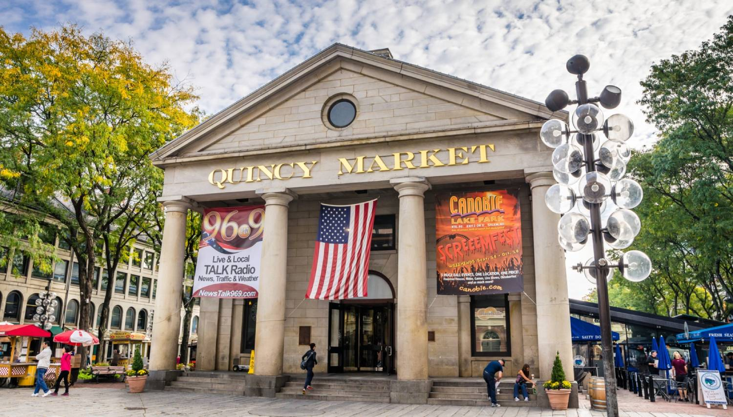 Quincy Market - Things To Do In Boston