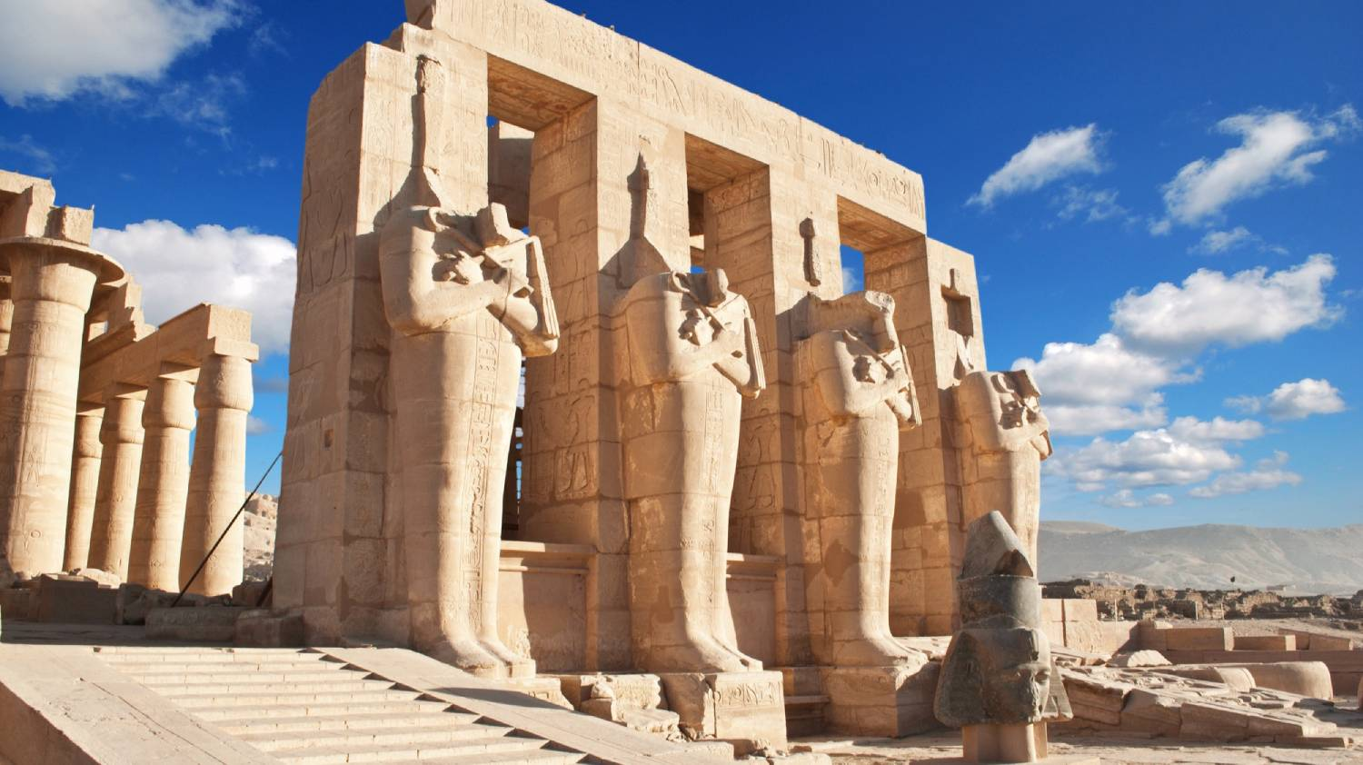 Ramesseum (Mortuary Temple of Ramses II) - Things To Do In Luxor