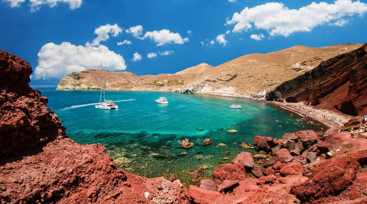 Red Beach - Things To Do In Santorini