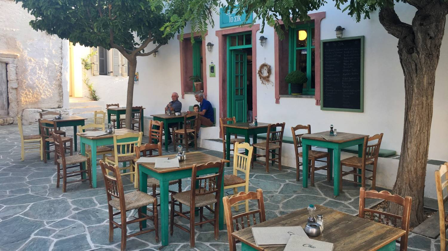 Restaurant Chic (To Sik) - Things To Do In Folegandros