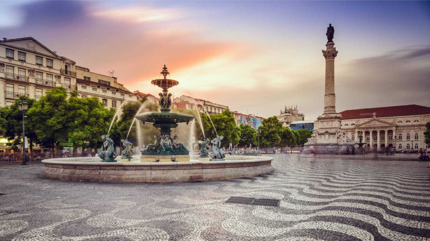 Rossio Square - Things To Do In Lisbon