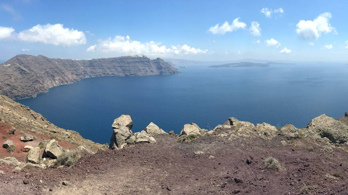 Santorini Caldera View - Things To Do In Santorini