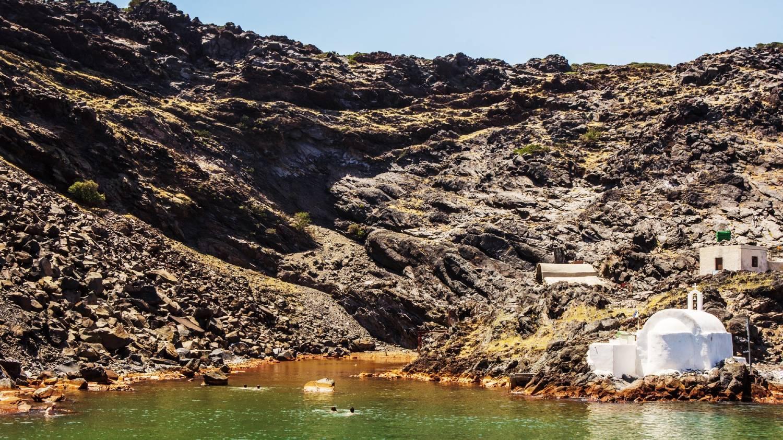 Santorini Hot Springs - Things To Do In Santorini