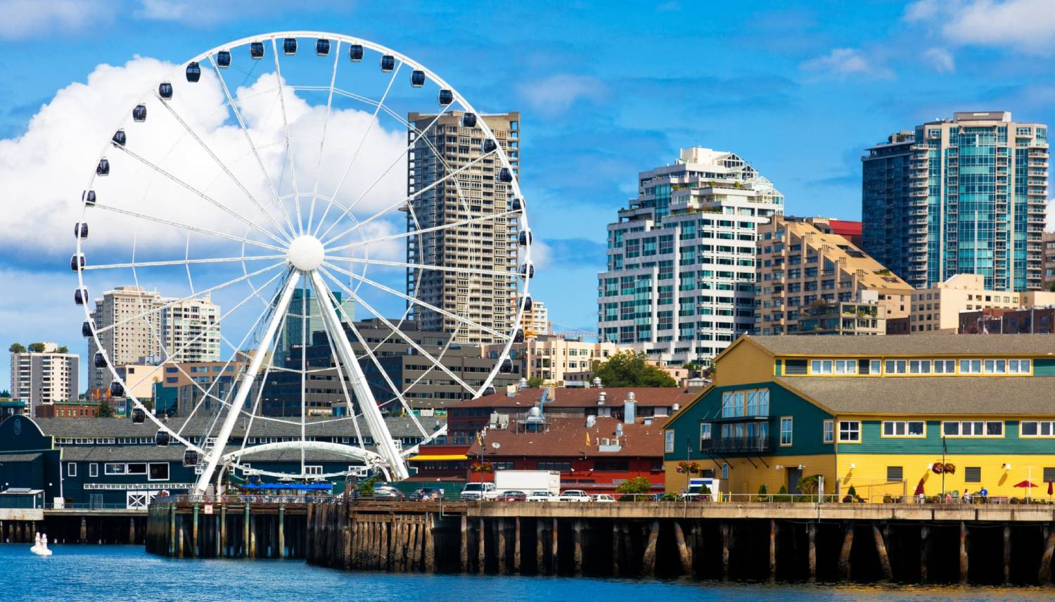 Seattle Great Wheel - Things To Do In Seattle