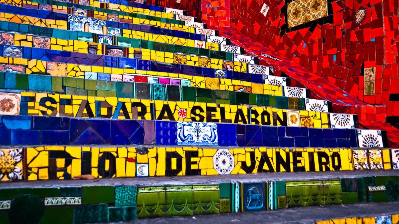 Selaron Staircase (Escadaria Selaron) - Things To Do In Rio de Janeiro