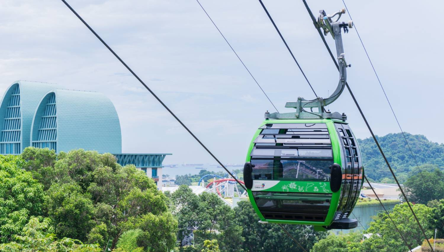 Singapore Cable Car - Things To Do In Singapore