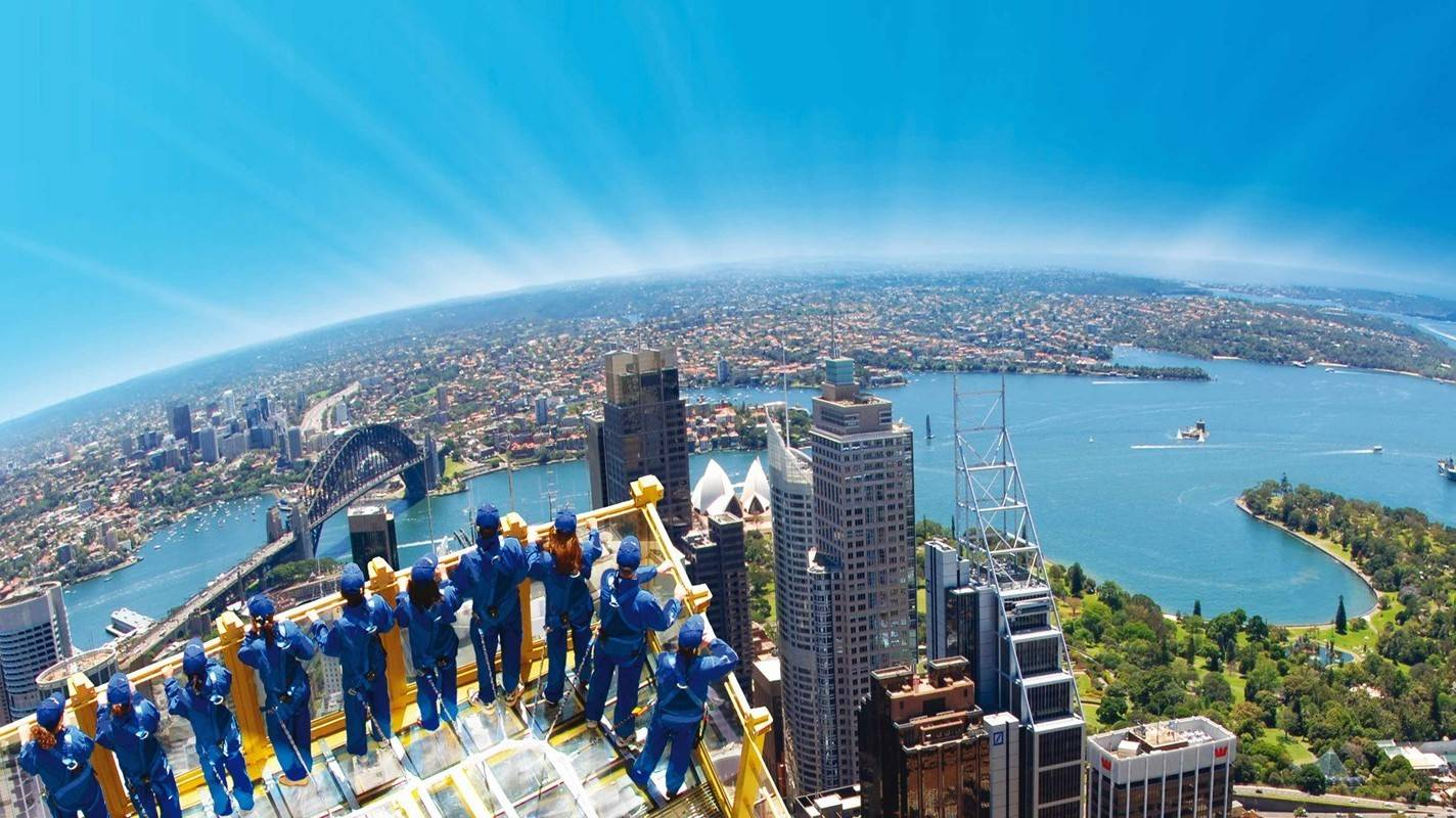 Sydney Tower SkyWalk - Things To Do In Sydney