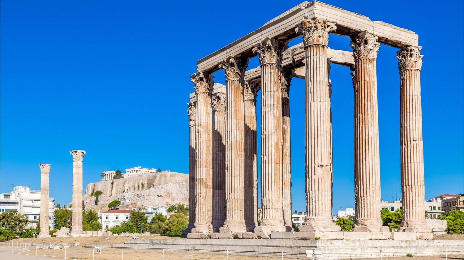 Temple of Olympian Zeus - Things To Do In Athens