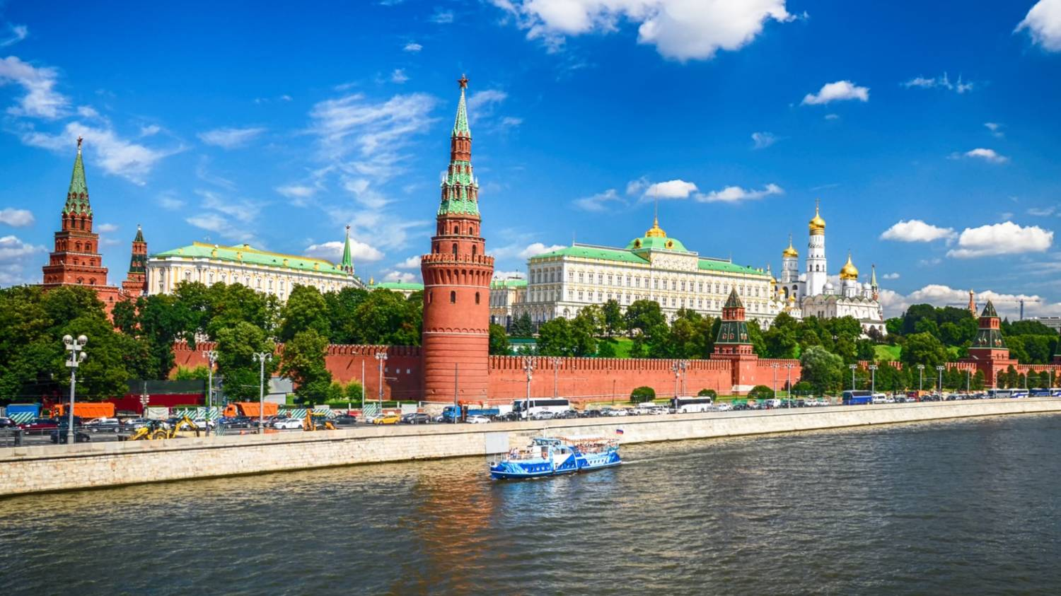 The Kremlin - Things To Do In Moscow