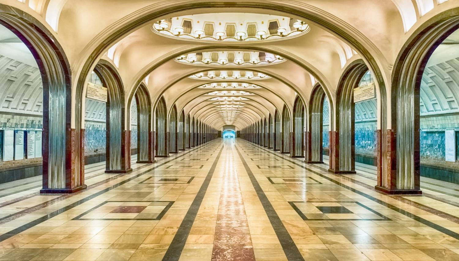 The Moscow Metro - Things To Do In Moscow