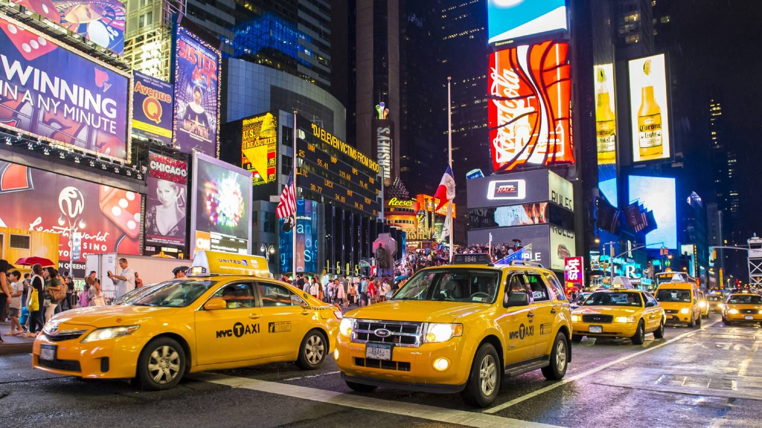 Times Square - Things To Do In New York City