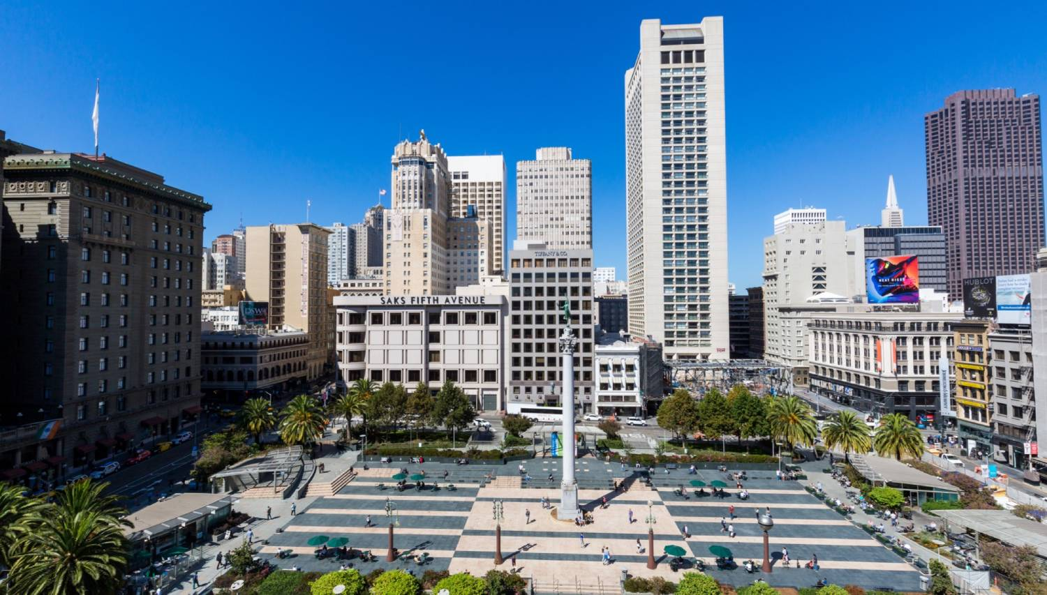 Union Square - Things To Do In San Francisco